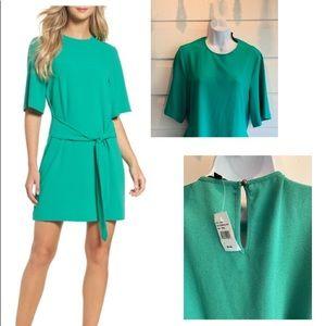 Emerald Green Dara Shift Dress
